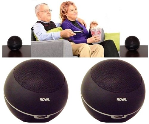 Royal Wes5000 Wireless Stereo Speaker System front-594152