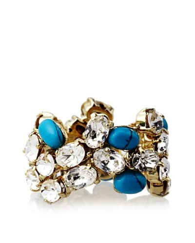 Joanna Laura Constantine Crystal Turquoise Ring