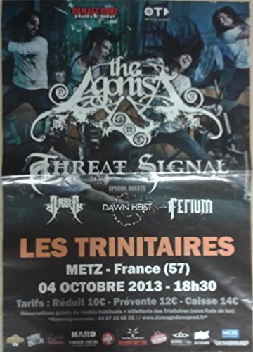 The Agonist/Threat Signal, 70 x 100 cm-Poster locandina