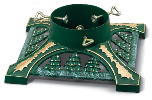 Jack-Post Cast Iron Decorated Green Powder-Coated