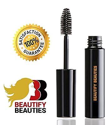 Beautify Beauties Volumizing Mascara Best Eyelash Enhancer Voluminous Mascaras for Promoting Fuller Luscious Lashes A Unique Formula That Lengthens & Curls Your Lashes, Black