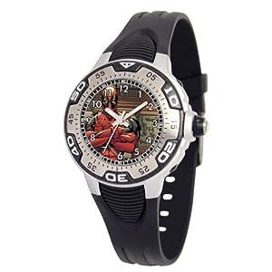 Marvel Comics Kids' MA0108-D340-Black Marvel Deadpool Spectrum Watch