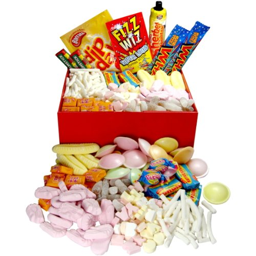 Retro Sweets Hamper Box