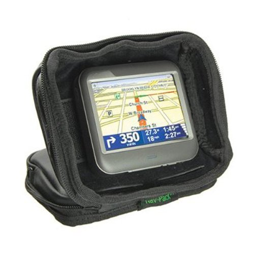 Bracketron UFM-300-BX Nav-Pack Weighted GPS Dash Mount/Carrying Case