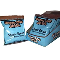 Our convenient 10 pack sleeve of Brown Dog Java's Maple Bacon coffee, just open one up and make a perfect pot of Maple bacon
