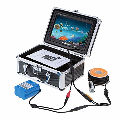 Eyoyo 4gb 50m Handheld System 7inch Monitor Hd 1000tvl Stainless Underwater Video Dvr Recorder Ice Sea Boat Fish Finder In Carry Case with a Peking Opera Keychain