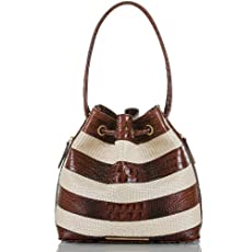Trina Shoulder Bag<br>Pecan Raffia Vineyard