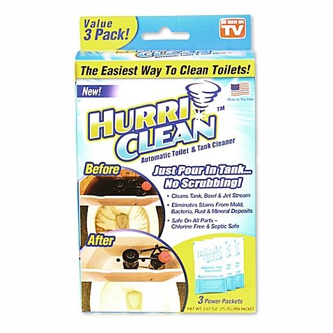 Hurriclean Automatic Toilet Cleaner
