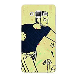 Mobile Back Cover For Samsung Galaxy A7 (Printed Designer Case)