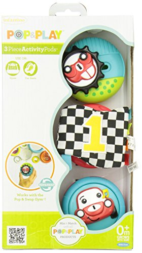 Infantino Pop & Play 3 Count Activity Pods - 1