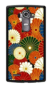 """Humor Gang Colorful Flower Pattern Printed Designer Mobile Back Cover For """"LG G4"""" (3D, Glossy, Premium Quality Snap On Case)"""