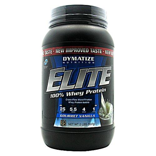 Elite Whey - 100% Whey Protein. New Taste. Gourmet Vanilla 2 Lb