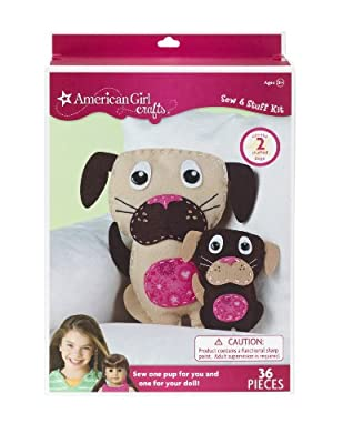 American Girl Crafts Dogs Sew and Stuff Kit