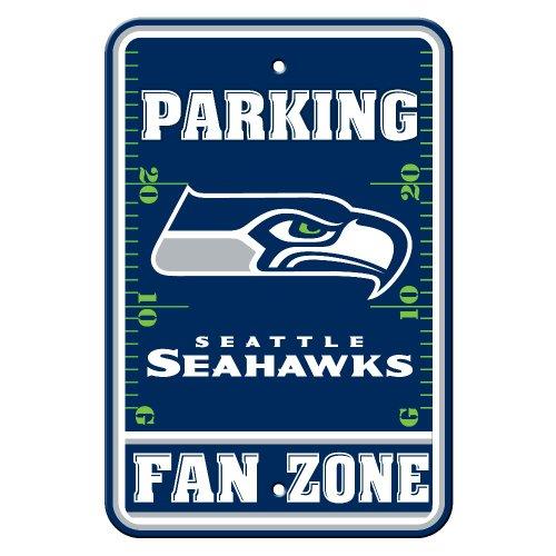 NFL-Seattle-Seahawks-Fan-Zone-Parking-Sign