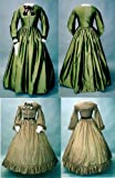 Ladies' Early 1860's Day Dress Pattern