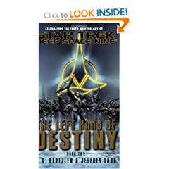 The Left Hand of Destiny, Book 2 (Star Trek: Deep Space Nine) by J. G. Hertzler and Jeffrey Lang