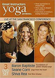 Great Instructors Yoga Journal: Live at the San Francisco Conference (Three-Disc Edition)