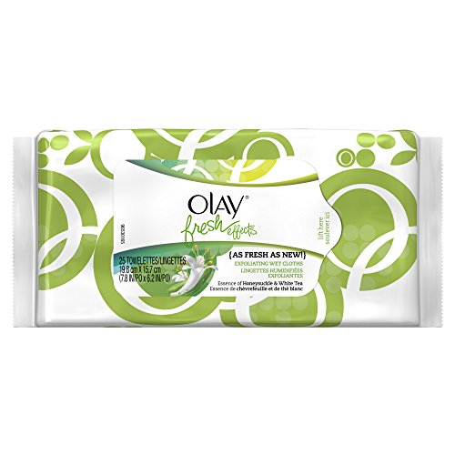 Fresh Effects As Fresh As New Exfoliating Wet Cloths, 25 Cloths Per Pack front-510638