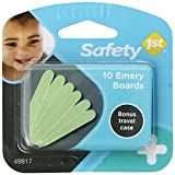 Safety 1st Emery Boards and Travel Case, 10-Count