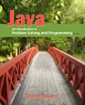 Java: An Introduction to Problem Solv...