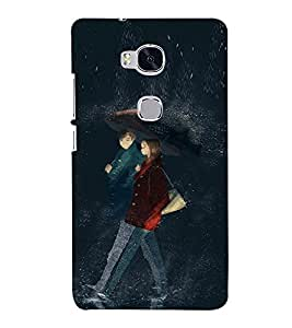 EPICCASE Modern Art Mobile Back Case Cover For Huawei Honor 5X (Designer Case)