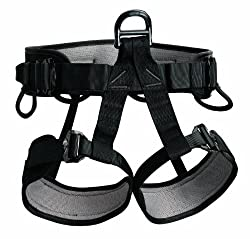 Petzl FALCON tactical seat harness Black size 2