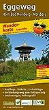 Eggeweg, Horn-Bad Meinberg - Marsberg: Leporello Wanderkarte mit Ausflugszielen, Einkehr- & Freizeittipps und Verbindungsweg zum Rothaarsteig, ... reissfest, abwischbar, GPS-genau. 1:25000