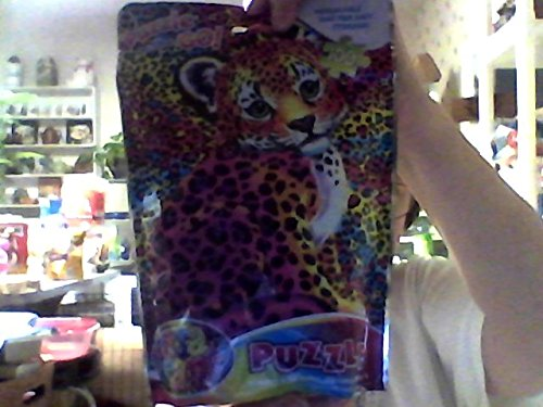 Lisa Frank On The Go Puzzle Rainbow Leopard Cub 100 piece