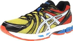 ASICS Men's GEL-Exalt Running Shoe,Red/Black/Yellow,10.5 M US