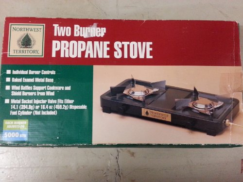 Propane Two Burner Stove