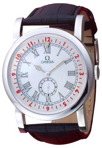 OMEGA (オメガ) 腕時計 パイロット 5161.34.11.005001 ホワイトパール メンズ [並行輸入品]