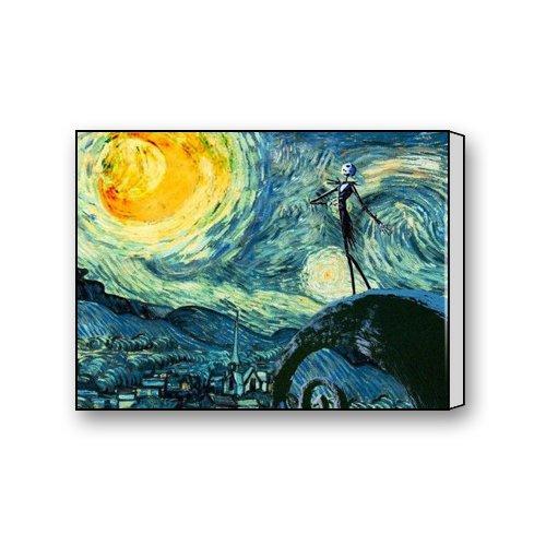 jack skellington the nightmare before christmas Canvas Print Art 16 x 12 inch