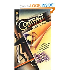 Contract Null and Void (Dka File Novel) Joe Gores