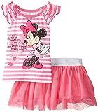 Disney Baby-Girls  2 Piece Cute Minnie Skirt Set