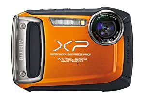 Fujifilm XP170 Compact Digital Camera with 5xOptical Zoom Lens - Orange