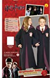 Rubies 884259M Childs Deluxe Harry Potter Robe with Gryffindor Emblem, Medium (Discontinued by manufacturer)