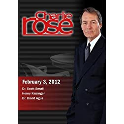 Charlie Rose - Dr. Scott Small / Henry Kissinger /  Dr. David Agus (February 3, 2012)