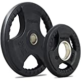 Bodymax Olympic Rubber Radial Tri-Grip Weight Plates