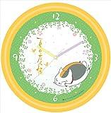 夏目友人帳 にゃんこ先生 壁掛け時計 A