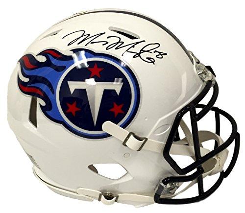 Marcus Mariota Signed Tennessee Titans Full Size Proline Speed Helmet PSA (Proline Titan compare prices)