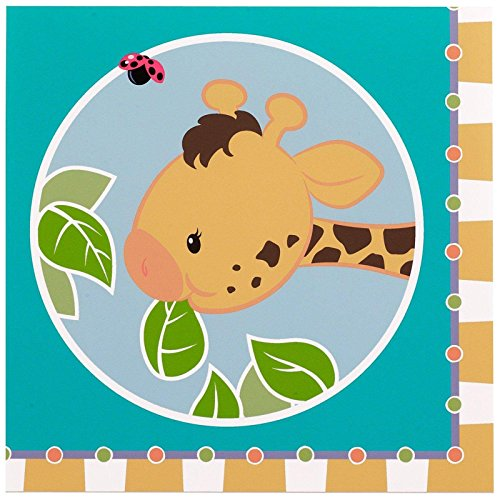 Party Destination 233390 Giraffe Lunch Napkins