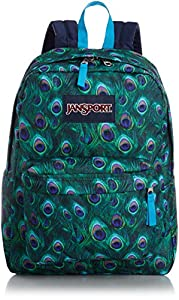 JanSport SuperBreak Backpack (MULTI PEACOCK)