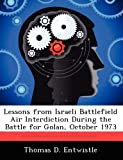 img - for Lessons from Israeli Battlefield Air Interdiction During the Battle for Golan, October 1973 by Entwistle Thomas D. (2012-09-13) Paperback book / textbook / text book