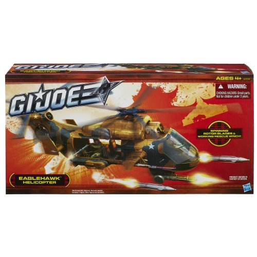 G.I. Joe Eaglehawk Helicopter Toy, Kids, Play, Children