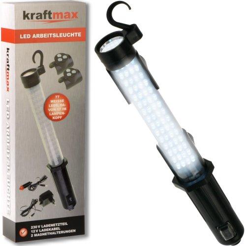 Kraftmax-W1000-Hochleistungs-LED-Arbeitsleuchte-Worklight-kabellos-inklusive-Akku-Netzteil-12-V-KFZ-Ladegert-42267953