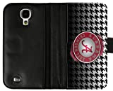 Accurate Store NCAA Alabama Crimson Tide logo Samsung Galaxy S4 Leather Case Cover