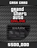 Grand Theft Auto Online: Bull Shark Cash Card (GTAマネー $500,000) 【Windows版】 [オンラインコード]