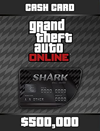 Grand Theft Auto Online: Bull Shark Cash Card [Online Game Code]