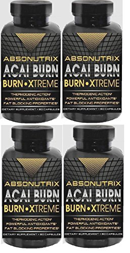 4-Bottles-Absonutrix-Acai-Burn-Xtreme-The-Most-Healthy-Way-to-Weight-Loss