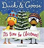 Duck & Goose, Its Time for Christmas! (Oversized Board Book)